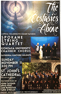 Spokane String Quartet – Presented by the Spokane Chamber